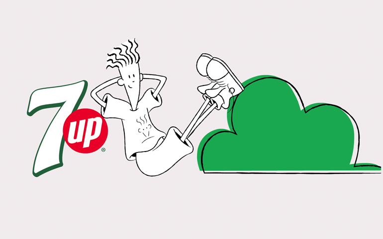 7Up  - Fido Dido Commercials
