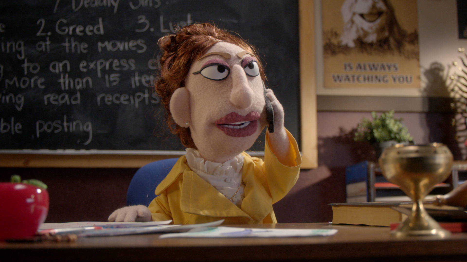Kathy Griffin on Comedy Central's Crank Yankers