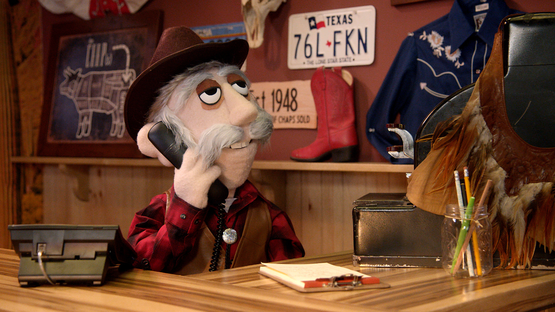 A scene from Comedy Central's Crank Yankers