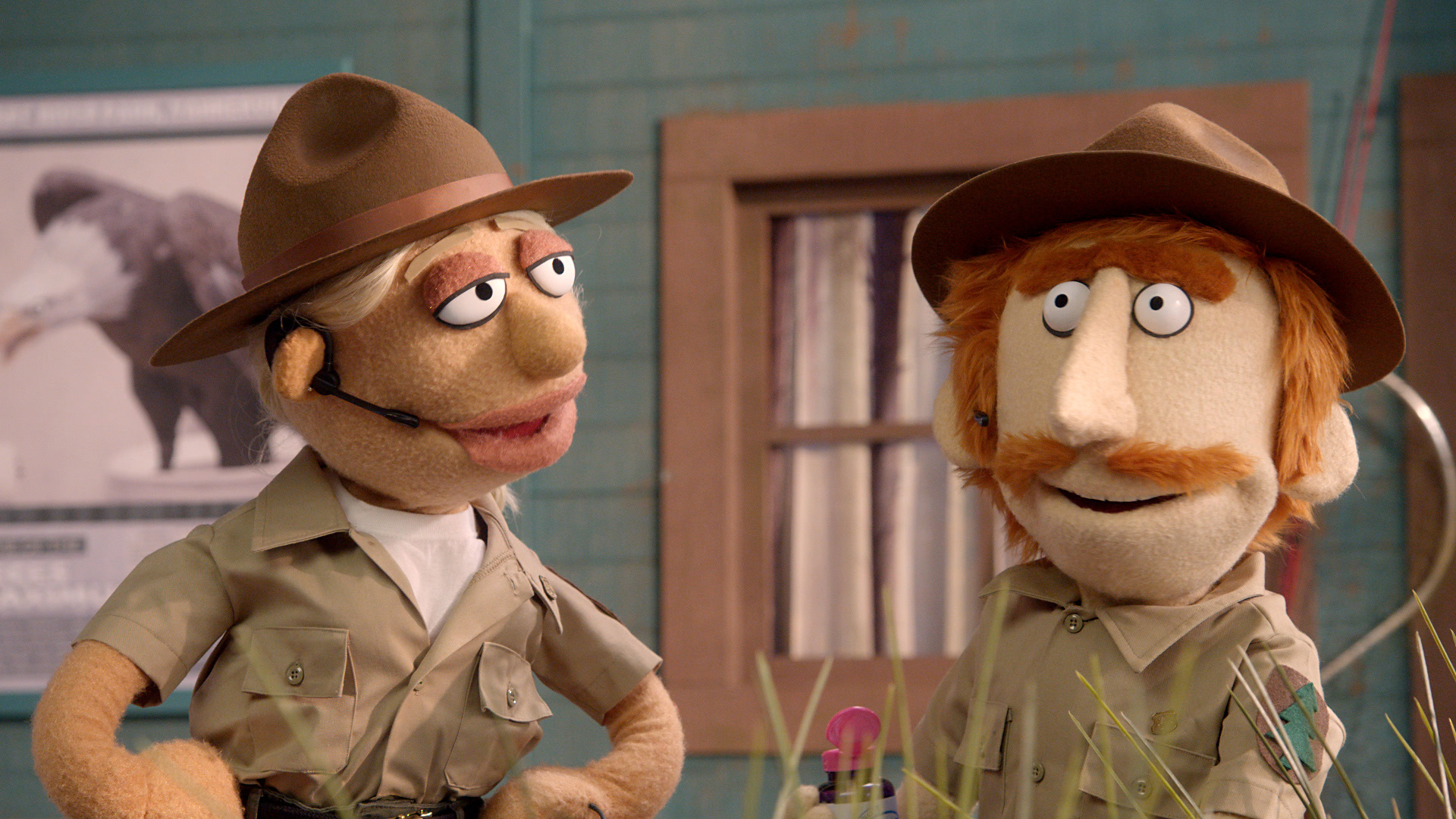 Tracy Morgan crank calls some park rangers on Crank Yankers